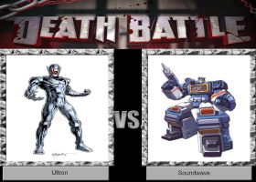 DEATH BATTLE Idea Ultron VS Soundwave by JefimusPrime