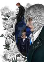 Gentlemen and Roses by Nazonaro