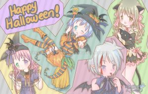 Happy Halloween 2011 :D by Risocaa