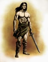 Plain simple barbarian by SOLIDToM