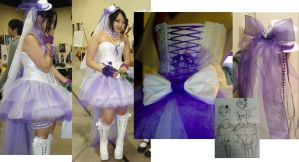 Wedding EGL White and Purple by Aleeart7