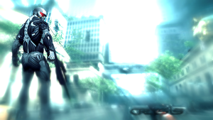 Crysis 2 Poster:3DSMax and CS5 by Spartan-279