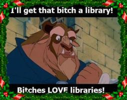 Bitches + Libraries... by BrittanyChayanne