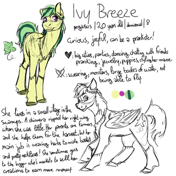 Ivy Breeze by FullmoonDagger
