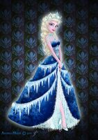 Royal Jewels Dress Edition: ELSA by MissMikopete