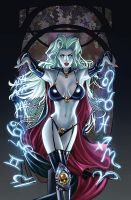 Lady Death Zodiac clean by ToolKitten