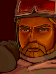 Obi-Wan in Clone Wars Trespass by thehaydenclone