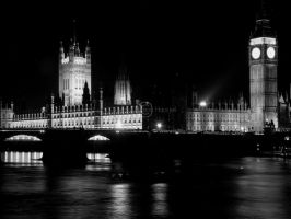 Westminster Palace by tonemapped