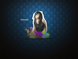Wallpaper christina Aguilera by 67MBex
