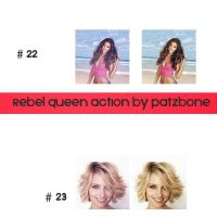 Rebel Queen Action by patzbone