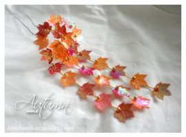 Autumn Maple - SOLD by Kurokami-Kanzashi