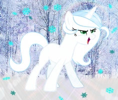 Gift  MLP Snow Side by BloodLover2222