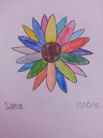 Flower of Colors by SamaHafiz2000