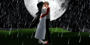 Cliche DaveJade Kiss in the Rain by Vocaloid726