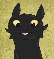 Toothless by psylvia