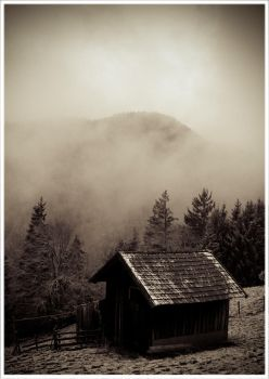 cold shelter sepia by kaeltetod
