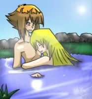 Judai And Asuka Request by The-Biscuit-Roku