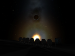 KSP Screenshot: Sunrise on the Mun by AvP66