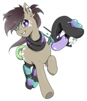 at special NeonMare mlp oc by chocone