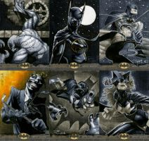 Batman: The Legend Sketch Cards 05 by RichardCox