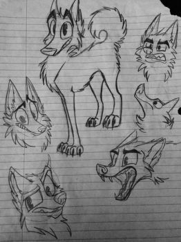 Sketches by MartyMcFIy