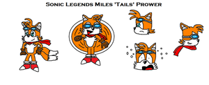 Sonic Legends Tails by scifiguy9000