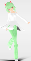 [MMD Download] Kirlia Gijinka by Supurreme