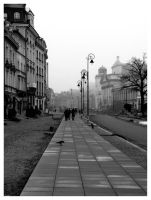 Warsaw, the day before 02 by Renifer