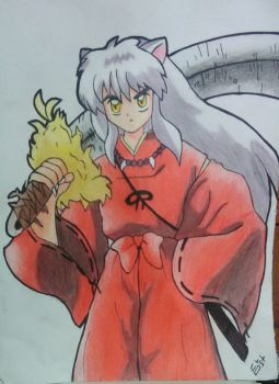 fan Art Inuyasha UwU by HeidyLile