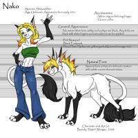 Nako Ref Sheet by Nako