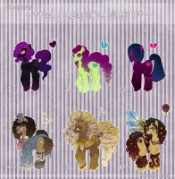 Pony Adoptable Sheet II - SALE! 2 left! by MaGeXP