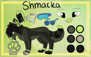 Shmacka ref by SushiiWolf