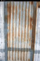 SS-0108 Rusty Metal Wall by Stocking-Stuffer