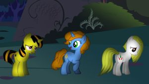 Eclipse Glare, Inimitable and Candy Cookie by wolfyka