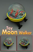 Vintage Toy Moon Walker 3D Model by sicklilmonky