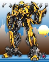 Bumblebee vexel by fullmetalshitty