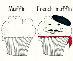 French muffin by MissWatermellon