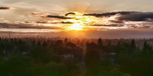 Sunset over Tacoma by arnaudperret