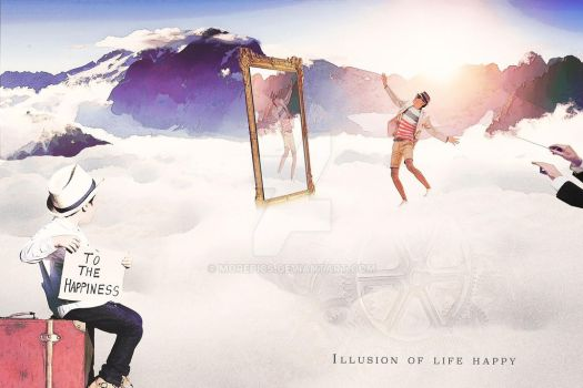 Illusion-of-life-happy by morepics