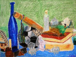 Colorful Still-life by Chalax91