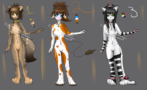 Anthro Girls forrrrr Auction:P by ZailaWulF