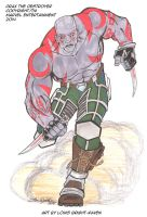 Drax The Destroyer Sketch (available) by Bright-Raven