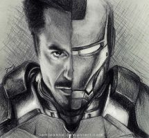 Iron Man by iamjoanna