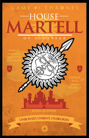 Game of Thrones - House Martell by GoJoeThibaultGo