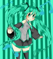 Miku Hatsune by SweetAbby1624