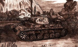 Panzer III Ausf. A by TimSlorsky
