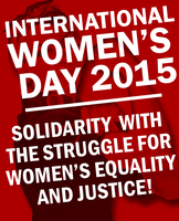 International Women's Day 2015 Poster by Party9999999