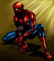 Spider-Man 0330 colored by nursury0