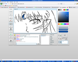 Sesshomaru in Iscribble by Sevowen