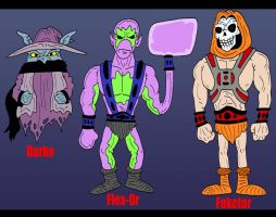 MOTU Ocs by Lordwormm